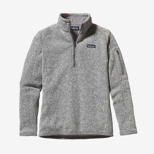 Patagonia Quarter Zip Better Sweater Fleece Jacket